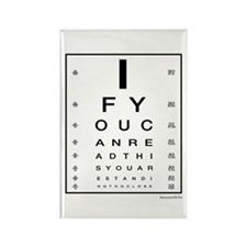 Too Close! Rectangle Magnet (100 pack)