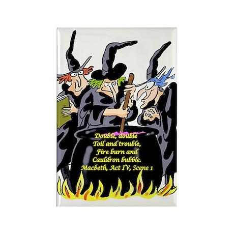 Macbeth1 Rectangle Magnet (100 pack)