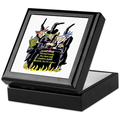 Macbeth1 Keepsake Box