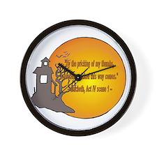 Macbeth2 Wall Clock