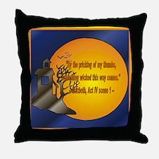 Macbeth2 Throw Pillow