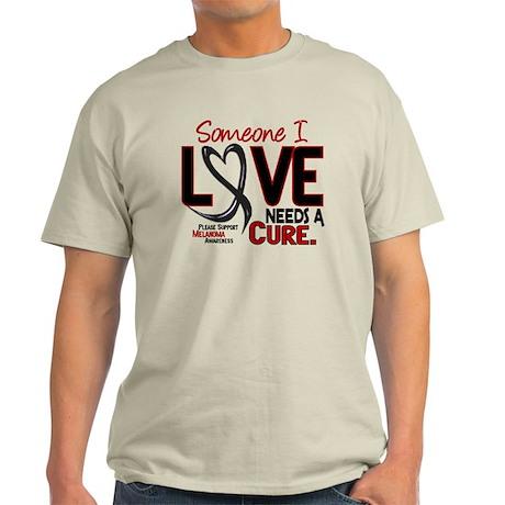 Needs A Cure 2 MELANOMA Light T-Shirt