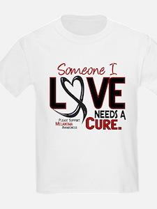 Needs A Cure 2 MELANOMA T-Shirt