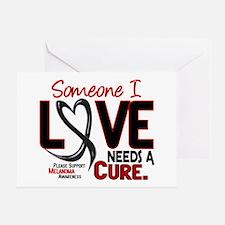 Needs A Cure 2 MELANOMA Greeting Card