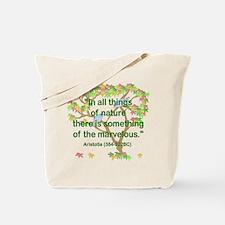 Aristotle Nature Tote Bag