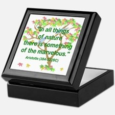 Aristotle Nature Keepsake Box