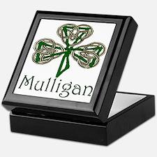 Mulligan Shamrock Keepsake Box