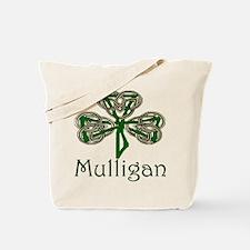 Mulligan Shamrock Tote Bag