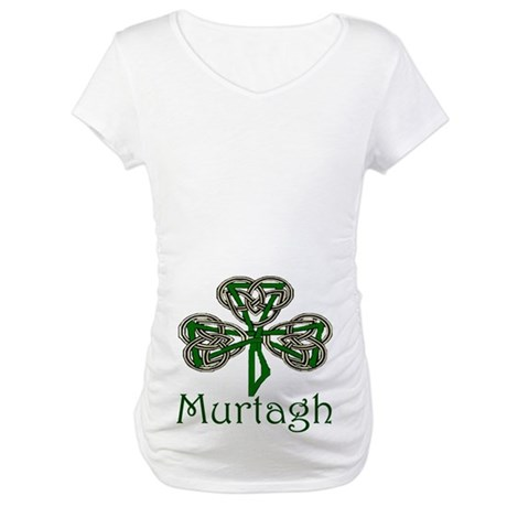 Murtagh Shamrock Maternity T-Shirt