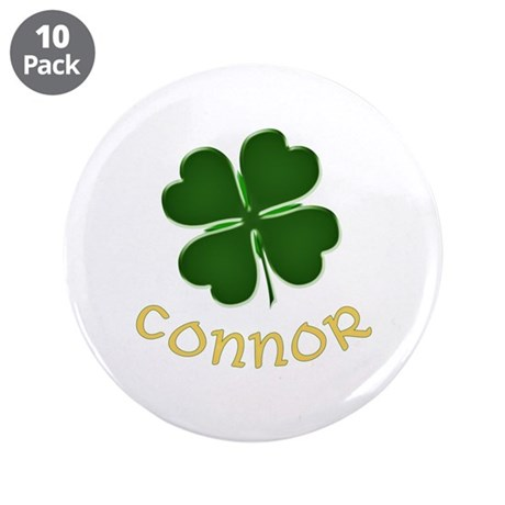 "Connor Irish 3.5"" Button (10 pack)"