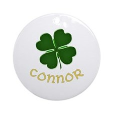 Connor Irish Ornament (Round)