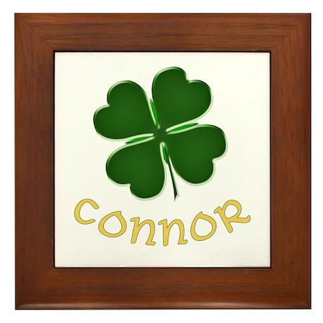 Connor Irish Framed Tile