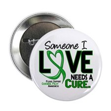 """Needs A Cure 2 CEREBRAL PALSY 2.25"""" Button"""