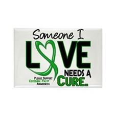 Needs A Cure 2 CEREBRAL PALSY Rectangle Magnet
