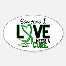 Needs A Cure 2 CEREBRAL PALSY Oval Decal
