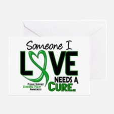 Needs A Cure 2 CEREBRAL PALSY Greeting Card