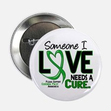 """Needs A Cure 2 CEREBRAL PALSY 2.25"""" Button (10 pac"""