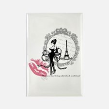 Paris Couture Rectangle Magnet