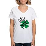 NYC Pubcrawl St. Patricks Day Women's V-Neck T-Shi
