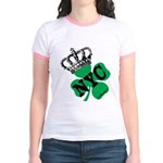 NYC Pubcrawl St. Patricks Day Jr. Ringer T-Shirt