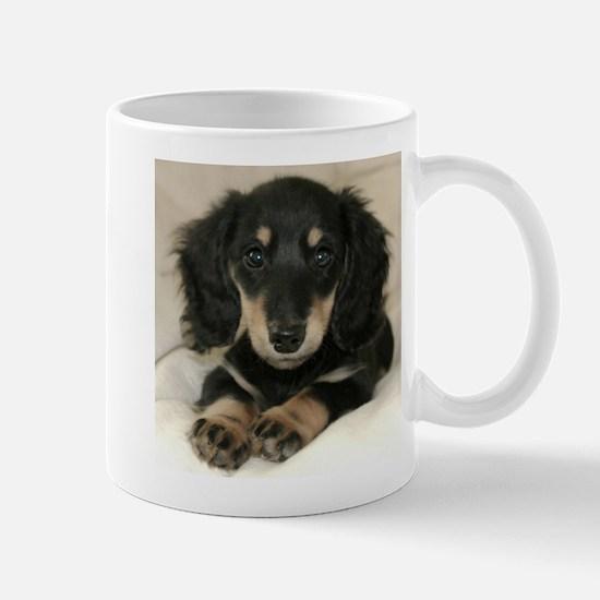 Long Haired Puppy Mug