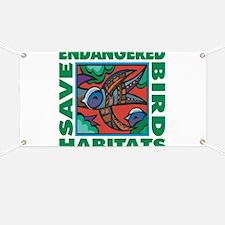 Save Bird Habitats Banner