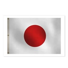 Japanese flag Postcards (Package of 8)