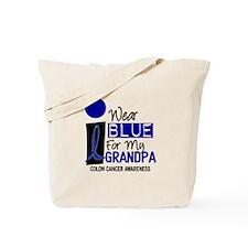 I Wear Blue For My Grandpa 9 CC Tote Bag
