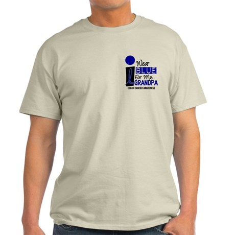 I Wear Blue For My Grandpa 9 CC Light T-Shirt