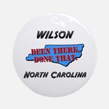 wilson north carolina - been there, done that Orna