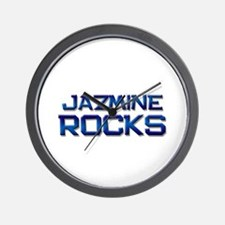jazmine rocks Wall Clock