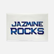 jazmine rocks Rectangle Magnet