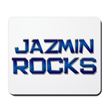 jazmin rocks Mousepad
