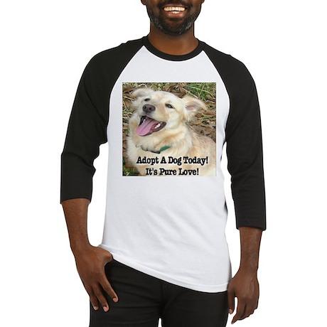 Adopt A Dog Today! Baseball Jersey