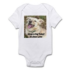 Adopt A Dog Today! Infant Bodysuit