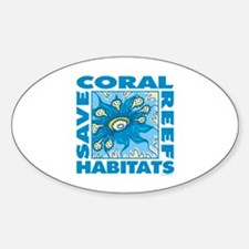 Save Coral Reefs Decal