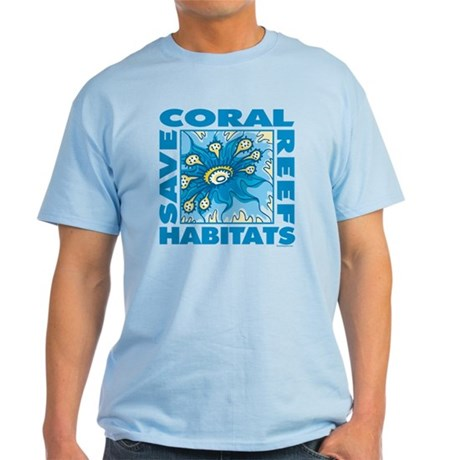 Save Coral Reefs Light T-Shirt