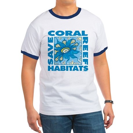 Save Coral Reefs Ringer T