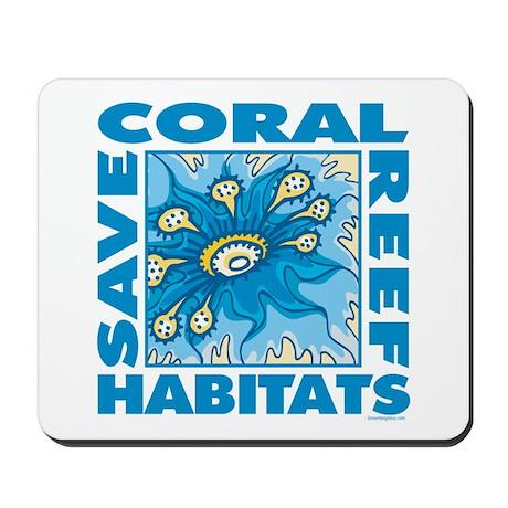 Save Coral Reefs Mousepad