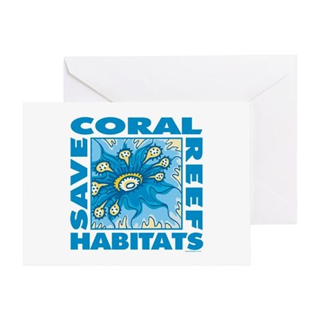 Save Coral Reefs Greeting Card