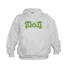 Front right left green Hoodie