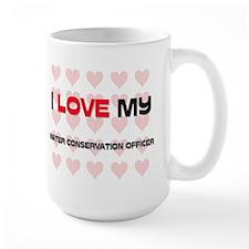I Love My Water Conservation Officer Mug