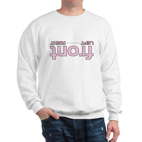 Front right left pink Sweatshirt