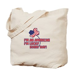 Lucky American Tote Bag