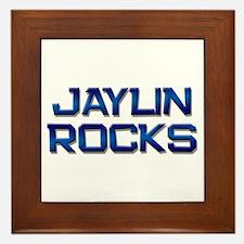 jaylin rocks Framed Tile