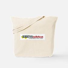 Diabetes Talkfest Tote Bag