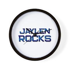 jaylen rocks Wall Clock