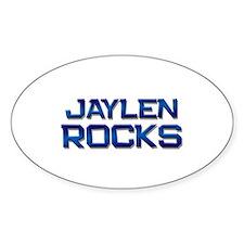 jaylen rocks Oval Decal