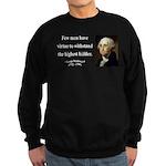 George Washington 11 Sweatshirt (dark)