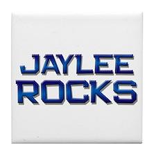 jaylee rocks Tile Coaster